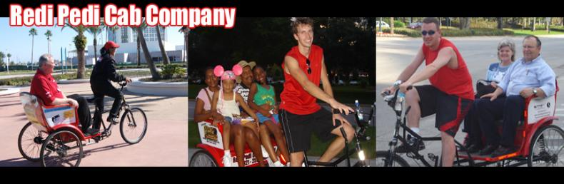 International Drive Tours and pedicab rides in Orlando, Florida with Redi Pedi!